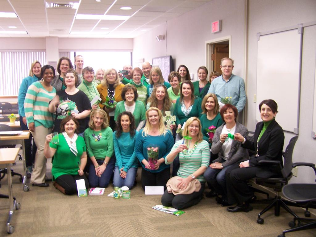 St. Pat's for St. Jude's - Wearing Green to Raise Money to Help Fight Pediatric Cancer