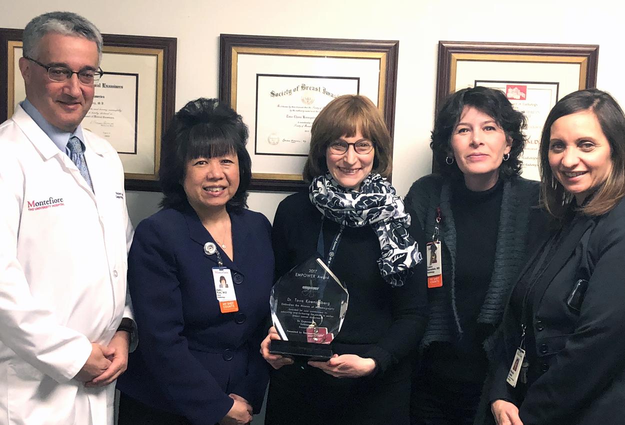 Meet Dr. Tovah Koenigsberg: Breast Radiologist, Empower Award Recipient