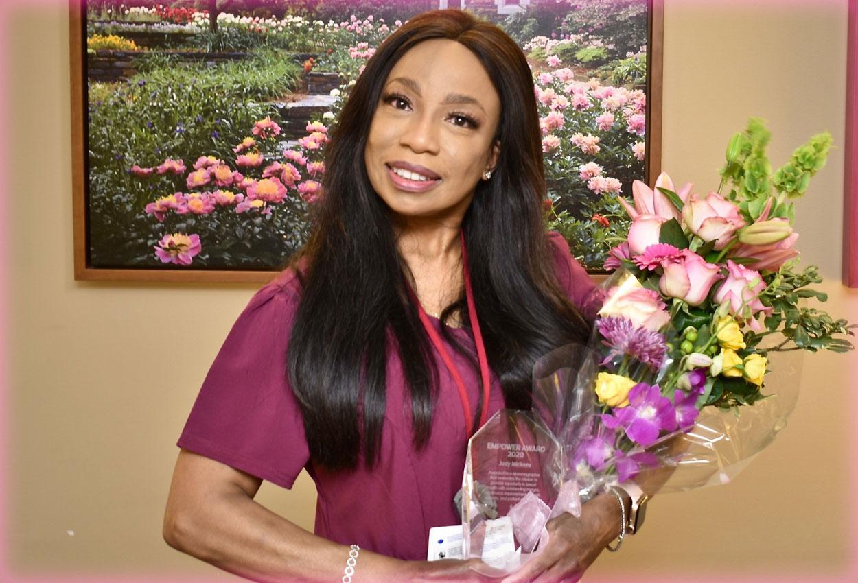 Meet Judy Mickens, Lead Mammography Technologist, Empower Award Recipient